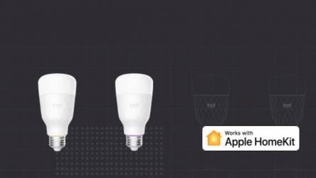 Xiaomi Yeelight nu ook te gebruiken met Apple Homekit
